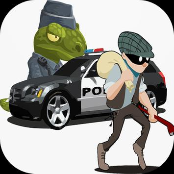 Police vs Thief poster