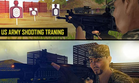 US Army Shooting School Game poster