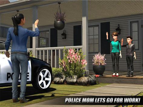 My Family Working Mom : Police Duty screenshot 11