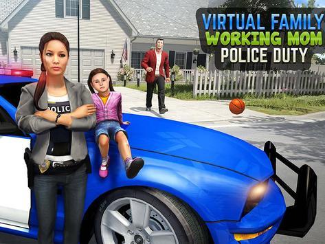 My Family Working Mom : Police Duty screenshot 14