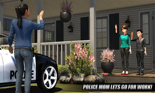 My Family Working Mom : Police Duty screenshot 1