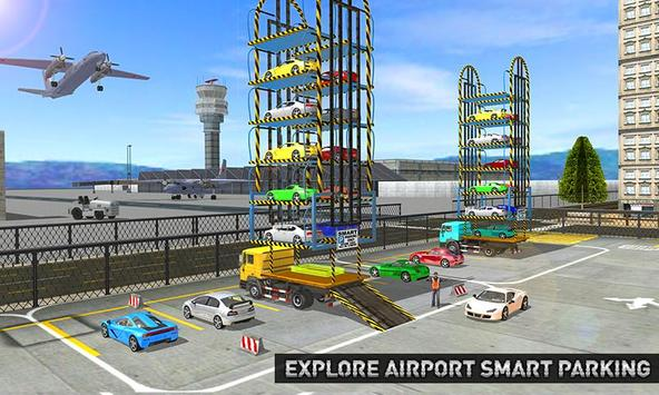 City Airport Multi Car Parking poster