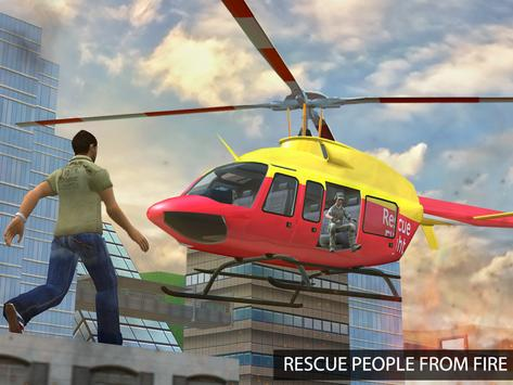 Flying Pilot Helicopter Rescue apk screenshot