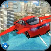 Flying Car Flight Pilot 3D icon