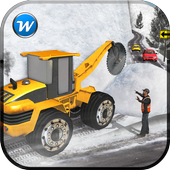 Offroad Snow Cutter Excavator icon