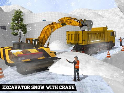 Offroad Snow Cutter Excavator apk screenshot