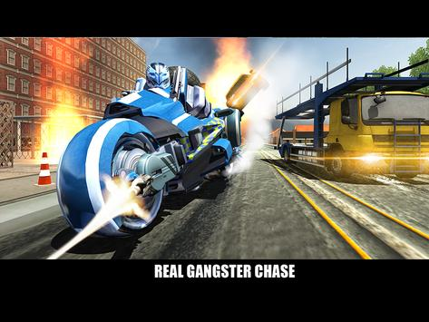 Police Superhero Robot Bike screenshot 14