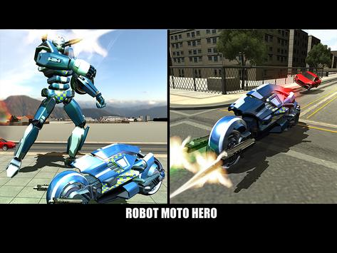 Police Superhero Robot Bike screenshot 15