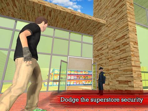 Real Supermarket Thief apk screenshot