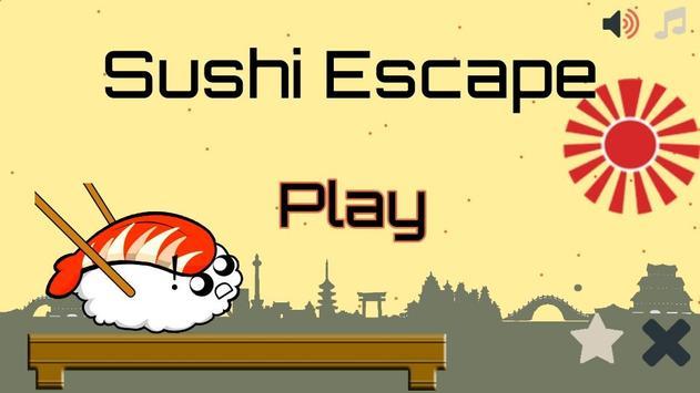 Sushi Escape poster
