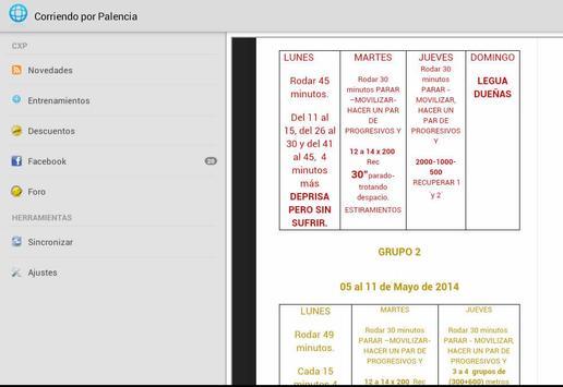 Corriendo por Palencia screenshot 3
