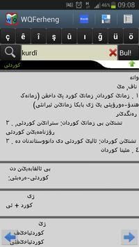 Kurdish Dictionary - WQFerheng screenshot 3