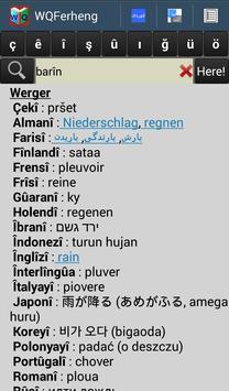 Kurdish Dictionary - WQFerheng screenshot 5