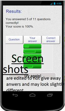 MR.quiz wiz LITE apk screenshot