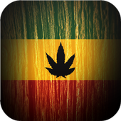 raggae wallpaper cannabis icon