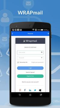 WRAPMail Mobile screenshot 3