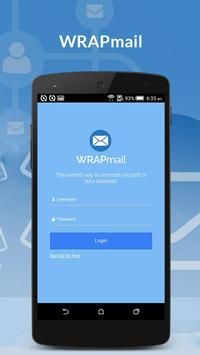 WRAPMail Mobile poster