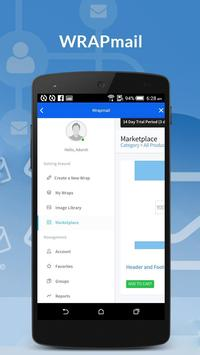 WRAPMail Mobile screenshot 1