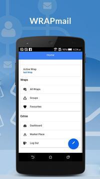 WRAPMail Mobile screenshot 2