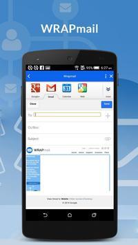 WRAPMail Mobile screenshot 4