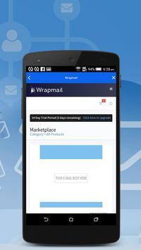 WRAPMail Mobile screenshot 5