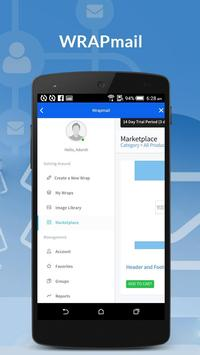 WRAPMail Mobile screenshot 6
