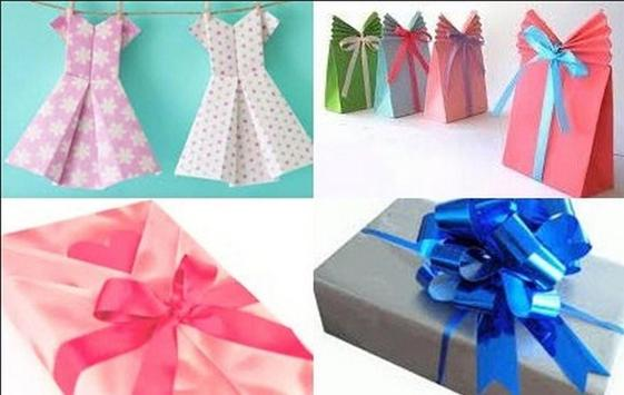 wrapping gifts tutorials poster