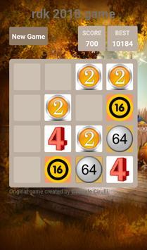 rdk 2048 game screenshot 2