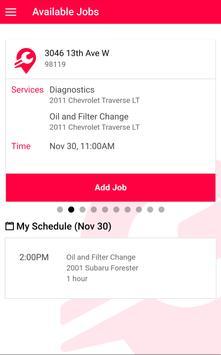 Mechanic App for Wrench Inc. screenshot 1