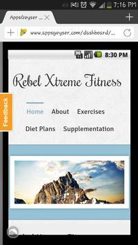Rebel Fitness apk screenshot