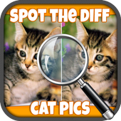 FREE Spot The Difference Cats icon