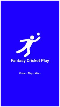 Fantasy Cricket Play poster