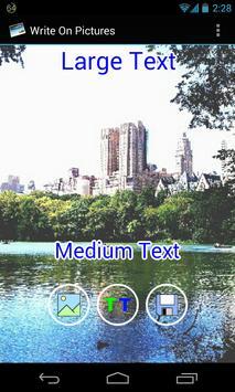 write on pictures app apk screenshot