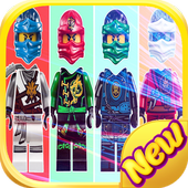 Wrong Heads - Puzzle Game Lego Ninjago Toys icon