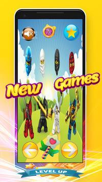 Wrong Heads - Puzzle Game Lego Ninjago Toys screenshot 14