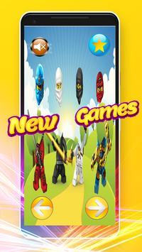 Wrong Heads - Puzzle Game Lego Ninjago Toys screenshot 1