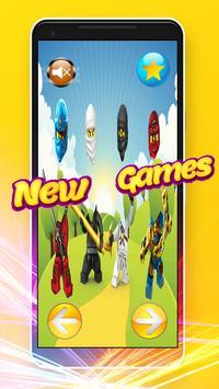 Wrong Heads - Puzzle Game Lego Ninjago Toys screenshot 5