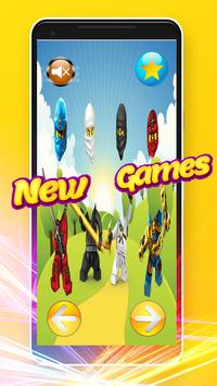 Wrong Heads - Puzzle Game Lego Ninjago Toys screenshot 6