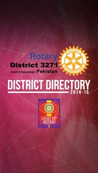Rotary District Directory poster