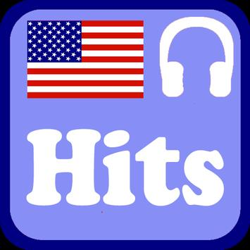 USA Hits Radio Stations poster