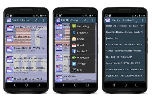 USA Hits Radio Stations screenshot 1