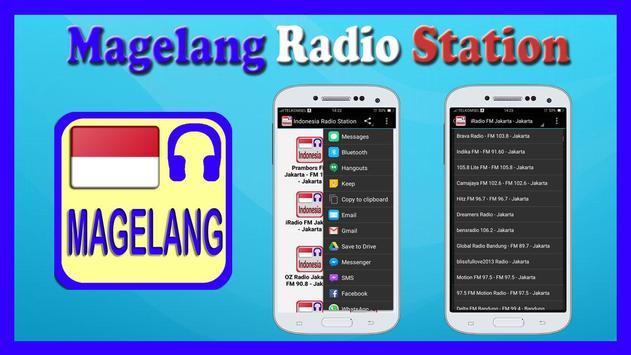 Magelang Radio Station poster