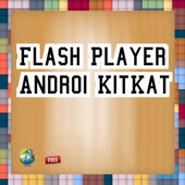 Flash Player  Android@KitKat icon