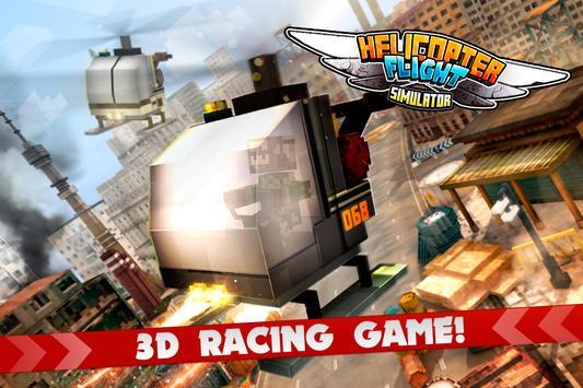 MC Helicopter Flight Simulator poster