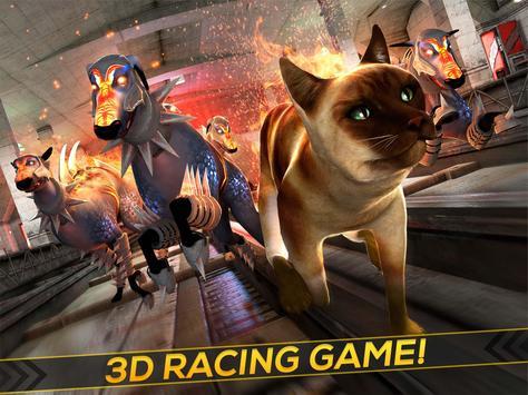 Oh My Cat! - Subway Race apk screenshot