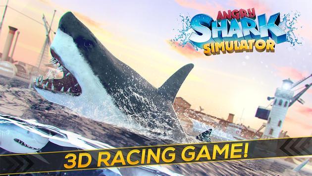 Angry Shark Simulator 2017 apk screenshot