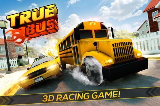True Bus 🚌 City Racing poster