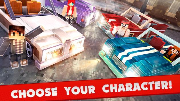 Blocky Car Driving Simulator apk screenshot