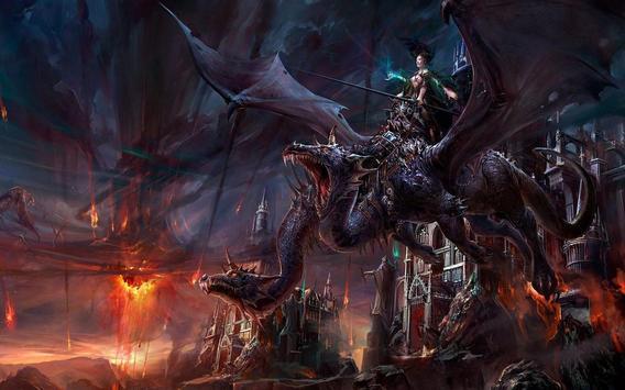 Dragon Live Wallpapers apk screenshot