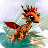 Flying Baby Dragons 3D icon